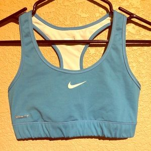 Nike Blue Sports Bra